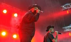 Run DMC sind dem breiten Publikum aufgrund ihres Hits «Walk This Way» bekannt. (Bild: Reto Martin)