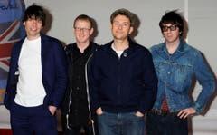 Sympathisch: Wer die britische Rockband Blur bucht, muss ihr vier Postkarten aus der jeweiligen Stadt, in der sie gerade ist, zur Verfügung stellen. (Bild: Keystone)