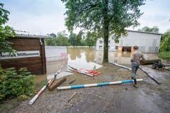 Reitwiese in Wil. (Bild: Hanspeter Schiess)
