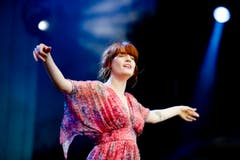 In Trance: Florence Welch, Sängerin von Florence And The Machine. (Bild: Coralie Wenger)