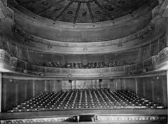 Der Zuschauerraum des alten Stadttheaters (Bild: Stadtarchiv Ortsbürgergemeinde St.Gallen)