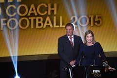 Jill Ellis ist die Trainerin des Jahres. (Bild: Keystone)