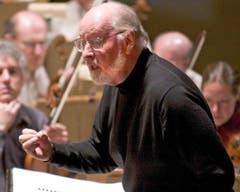 """""""Star Wars""""-Komponist John Williams ist der lebende Mensch mit den meisten Oscar-Nominierungen: 49 an der Zahl. Fünfmal gewann er, darunter 1978 für den ersten «Star-Wars»-Soundtrack. (Bild: Keystone)"""