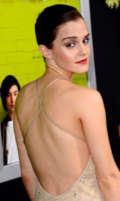 """10. September 2012: An der Premiere von """"The Perks of Being a Wallflower"""" in Hollywood. (Bild: Keystone)"""