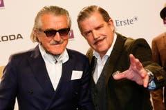 Die beiden Yello-Musiker Dieter Meier (links) und Boris Blank. (Bild: Keystone)