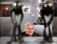 2011 zeigte Giger seine Werke im Kunsthaus Wien. (Bild: Keystone)