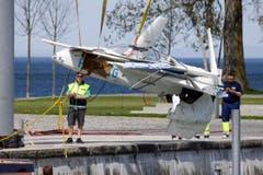 Die Unglücksmaschine - ein Experimentalflugzeug - war auf dem Weg ins Welschland. (Bild: Rudolf Hirtl)
