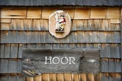 Auf der Alp Hoor lebt Roland Bischof im Sommer. (Bild: Urs Bucher)