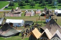 Noch sind rund 1600 Kinder im Lager bei Oberbüren. (Bild: Hanspeter Schiess)
