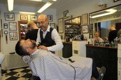 Im Barbershop von Ragnar Heidar Hardarson. (Bild: Marion Loher)