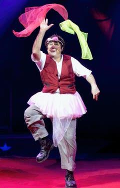 """David Larible, der """"Clown der Clowns"""" und Vater von Artistin Shirley, ist der Namensgeber des diesjährigen Knie-Programms. (Bild: Keystone)"""
