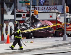 TIMES SQUARE CRASH (Bild: Keystone)