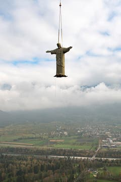 CAPTION CORRECTION SCHWEIZ KUNST CHRISTUS CRISTO REDENTOR (Bild: Keystone)