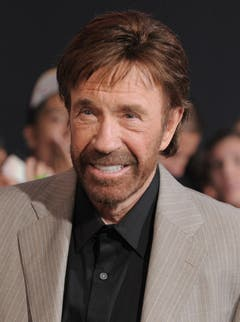 """""""Chuck Norris kann Zwiebeln zum Weinen bringen."""" (Bild: Keystone)"""