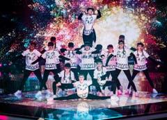 """Die """"Steep Dance Crew"""" zeigte sich äusserst beweglich. (Bild: Mirco Rederlechner (SRF))"""