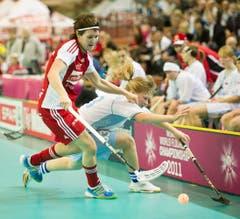 Daniela Stettler (l.) gegen Svetlana Wiktorova. (Bild: Keystone)