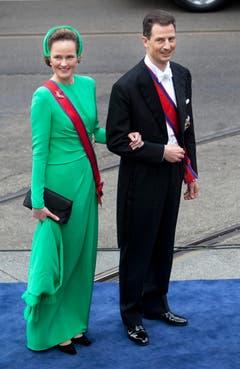 Prinz Alois und Prinzessin Sophie von Liechtenstein. (Bild: Keystone)