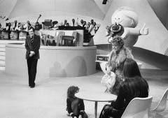 Unvergessener Strassenfeger: die Show «Teleboy». (Bild: Ralph Ribi)