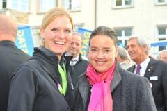 Henrike Girmann und Carmen Haag. (Bild: Nana do Carmo)
