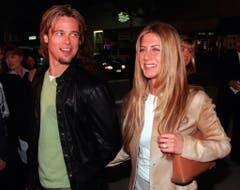 Im März 2000 war Brad Pitt noch mit Jennifer Aniston verheiratet. (Bild: Keystone)