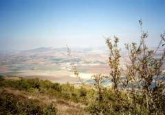 Blick auf die israelische Landschaft nahe Bet Alfa. (Bild: Ueli Eisenhut)