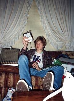 Kurt Cobain wechselte in seiner Jugend mehrmals den Wohnsitz und brach mit 18 die Schule ab. (Bild: Keystone)