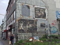 Eine Wandmalerei in Reykjavik. (Bild: Marion Loher)