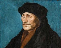 Der grosse Humanist Erasmus von Rotterdam, der zuletzt auch in Basel lehrte, schrieb durchschnittlich 1000 Wörter pro Tag. In seinen Briefen mahnte er Luther immer wieder zur Mässigung in dessen radikaler Papst-Kritik. Er forderte eher eine sanfte «innere Reformation» der katholischen Kirche.