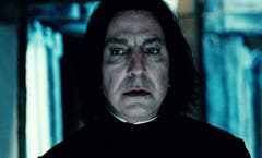 "Rickman in seiner berühmtesten Rolle als Professor Severus Snape in ""Harry Potter"". (Bild: Keystone)"