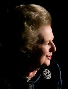 Sie politisierte, polarisierte und provozierte: Margaret Thatcher, ehemalige Premierministerin von Grossbritannien (2005). (Bild: Keystone)