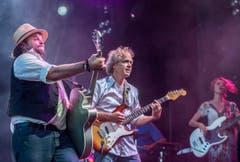 Die Schweizer Band rockte die Bühne in Arbon. (Bild: Reto Martin)
