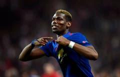 Platz 2, Paul Pogba. Im August 2016 für 105 Millionen Euro von Juventus Turin zu Manchester United. (Bild: Georgi Licovski / Keystone)
