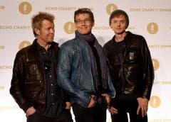 Die norwegische Popgruppe a-ha ist nach einer Pause wieder zurück im Geschäft: (v.l.) Magne Furuholmen, Morten Harket und Pal Waaktaar-Savoy. (Bild: Keystone)
