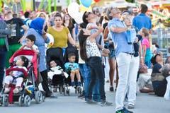 Kreuzlingen TG , 13.08.2016 / Seenachtsfest Kreuzlingen Fantastical 2016 . (Bild: Donato Casperi)
