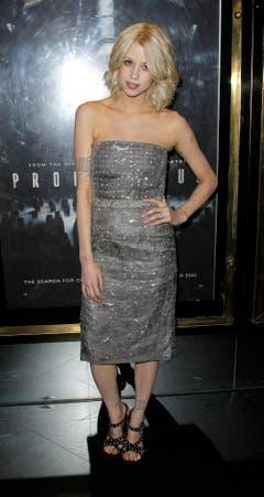 Peaches Geldof erscheint zur Weltpremiere des Films «Prometheus» am 31. Mai 2012. (Bild: Keystone)