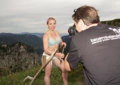 Schöne Aussichten: Die Walliserin Caroline Huguenin. (Bild: pd)