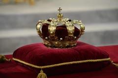 Die Königskrone - in Holland wird der König allerdings nicht gekrönt, sondern eingesetzt. (Bild: Keystone)