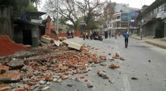 Nepal Earthquake (Bild: Keystone)