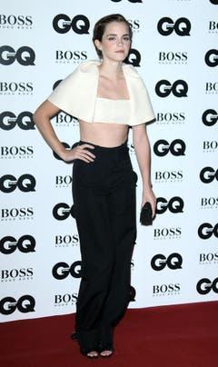 3. September 2013: Emma Watson beim Men-of-the-Year-Award in London. (Bild: Keystone)