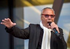 Entertainer Kurt Oberländer unterhielt die Gäste. (Bild: Reto Martin)