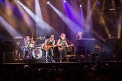 Rockten wie in alten Zeiten: Deep Purple. (Bild: Urs Bucher)