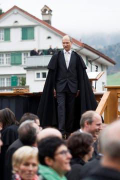 Der neu gewählte Landammann Daniel Fässler. (Bild: Keystone)