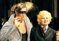1998/99: Modeschau in Mailand. (Bild: Keystone)