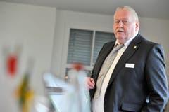"""Kategorie Genuss: Seit 28 Jahren wirkt Ruedi Bartel in der """"Krone"""" Balterswil. Seit 2012 ist er nicht nur Präsident von Gastro Thurgau, sondern sitzt auch für die SVP im Grossen Rat. (Bild: Donato Caspari)"""