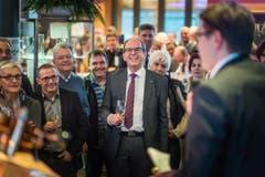 Bruno Damann lässti sich im Freihof in Gossau feiern. (Bild: Michel Canonica)