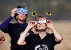 The solar eclipse in Sisters Oregon (Bild: Keystone)