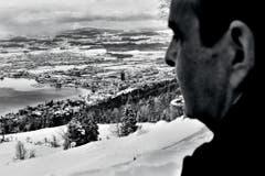 """Der in Genf lebende Brite Mark Henley hat den neuen CVP-Präsidenten Gerhard Pfister für """"Das Magazin"""" begleitet und mit den Bildern in der Kategorie """"Porträt"""" gewonnen. (Bild: Swiss Press Photo/Mark Henley)"""