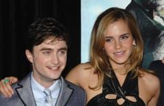 9. Juli 2009: Daniel Radcliffe und Emma Watson in New York. (Bild: Keystone)