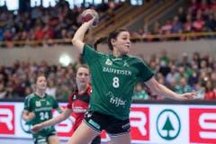 Traf vierfach für ihr Team: Brühls Martina Goricanec. (Bild: Keystone)