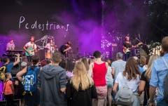 Romanshorn TG - Sommernachtsfest im Hafen von Romanshorn. Konzert Pedestrians. (Bild: Andrea Stalder)